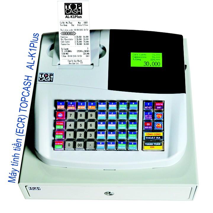Máy tính tiền Topcash AL-K1Plus – Hàng chính hãng Giá chỉ 3.960.000₫