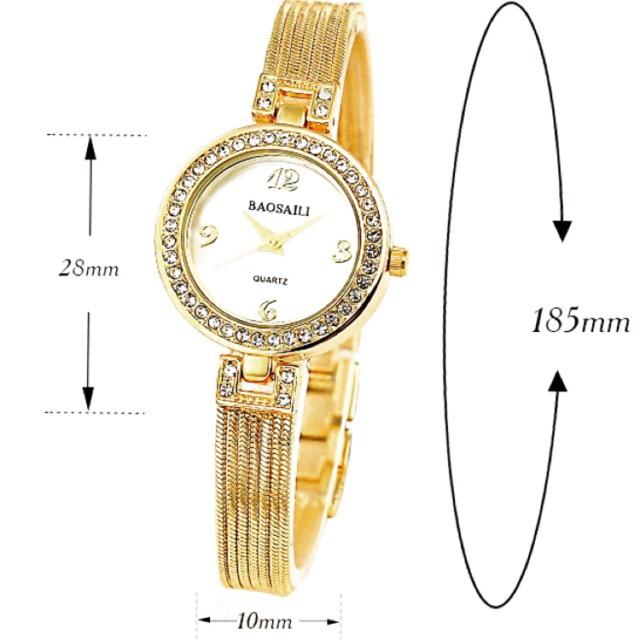Đồng hồ nữ BAOSAILI BSL5122 dây thép không gỉ cao cấp