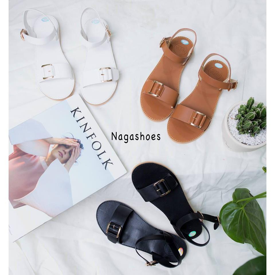 Giày Sandal Nagashoes khóa quai ngang NAS82 - 3298777 , 587918203 , 322_587918203 , 249000 , Giay-Sandal-Nagashoes-khoa-quai-ngang-NAS82-322_587918203 , shopee.vn , Giày Sandal Nagashoes khóa quai ngang NAS82