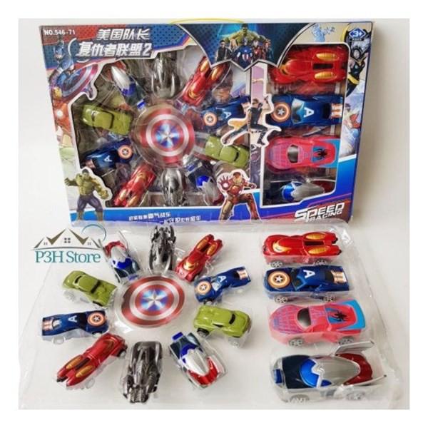 Bộ 14 xe siêu anh hùng