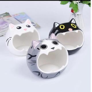 nhà ngủ mèo sứ siêu dễ thương thumbnail