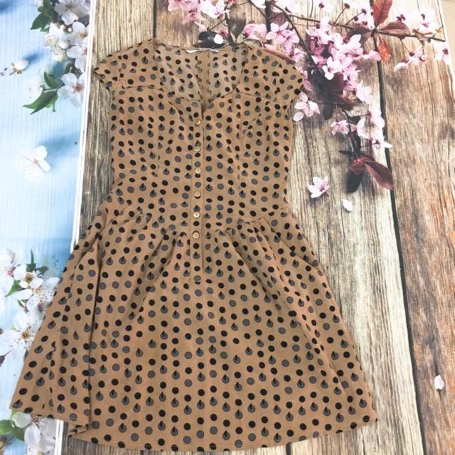váy chấm bi
