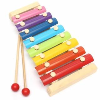 DGK - Đồ chơi Đàn Piano Xylophone gỗ 8 thanh quãng - Đồ chơi âm nhạc cho bé 2