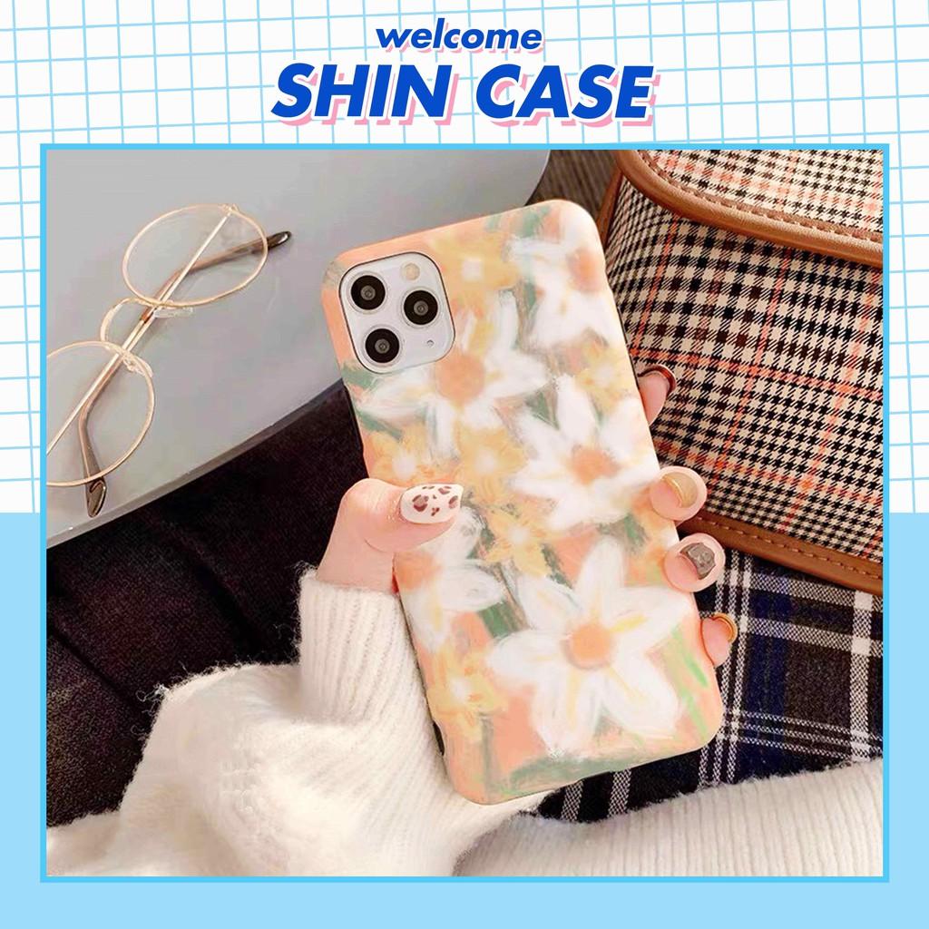 Ốp lưng iphone Hoa Thủy Tiên 5/5s/6/6plus/6s/6s plus/6/7/7plus/8/8plus/x/xs/xs max/11/11 promax – Shin Case [J-Y1]