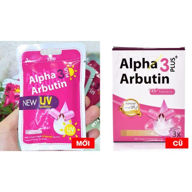 Viên Kích Trắng Alpha Arbutin 3 Plus Tháilan