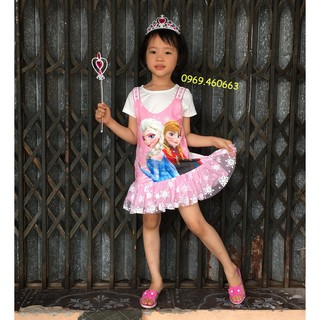 Váy Công chúa Elsa Quảng Châu Chất đẹp. Mẫu mới hè 2019