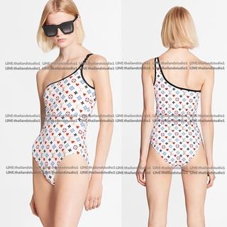 Thailandstudio 2020 one shoulder One Piece lệch vai nâng ngực Đồ bơi một mảnh