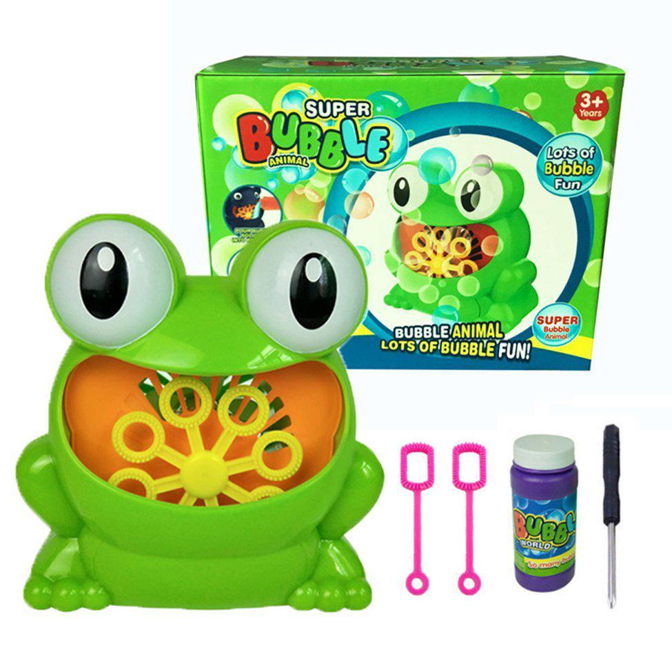 Children Water Blowing Toys Bubble Soap Bubble Blower Outdoor Kids Child