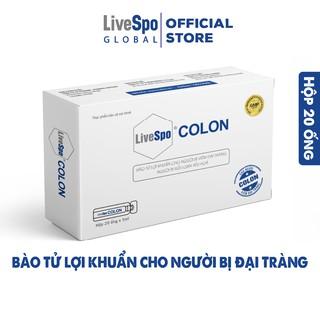 Bào tử lợi khuẩn LiveSpo Colon, hỗ trợ xử lý viêm đại tràng, giảm rối loạn tiêu hoá, giúp cân bằng hệ vi sinh đường ruột thumbnail