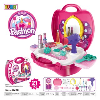 [Nhập 1212TOY giảm 10%]Bộ đồ chơi trang điểm 21 món cho bé