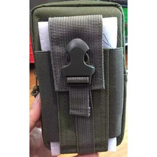 Thanh lý – 3 Túi đeo hông xanh quân đội đựng điện thoại