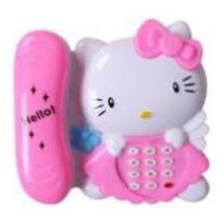Đồ chơi điện thoại mèo kitty
