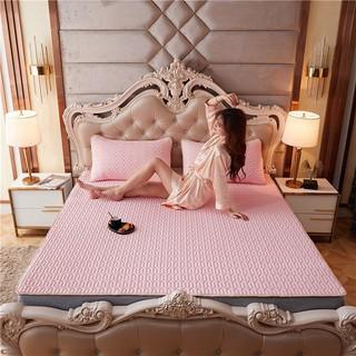 [MÃ YENASTORE GIẢM 20K] Ga trải giường điều hòa cao su non 1.8mx2m và 2 vỏ gối