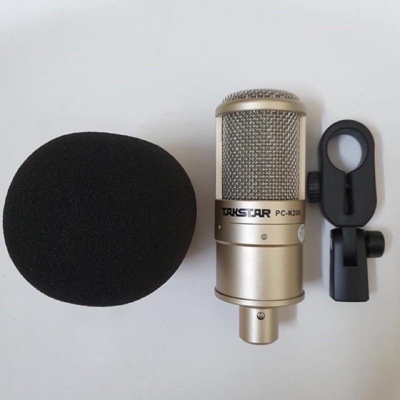 [Mã SKAMPUSHA7 giảm 8% đơn 250k]Bộ Mic K200+icon pro Hát Thu âm Livestream Karaoke Bảo Hành 1 Năm