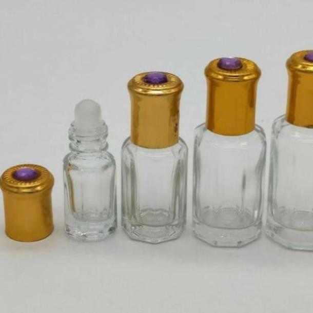 [3ml/6ml] Vỏ Lọ chiết nước hoa Dubai bi lăn Ruby rỗng / chai lọ đựng nước hoa
