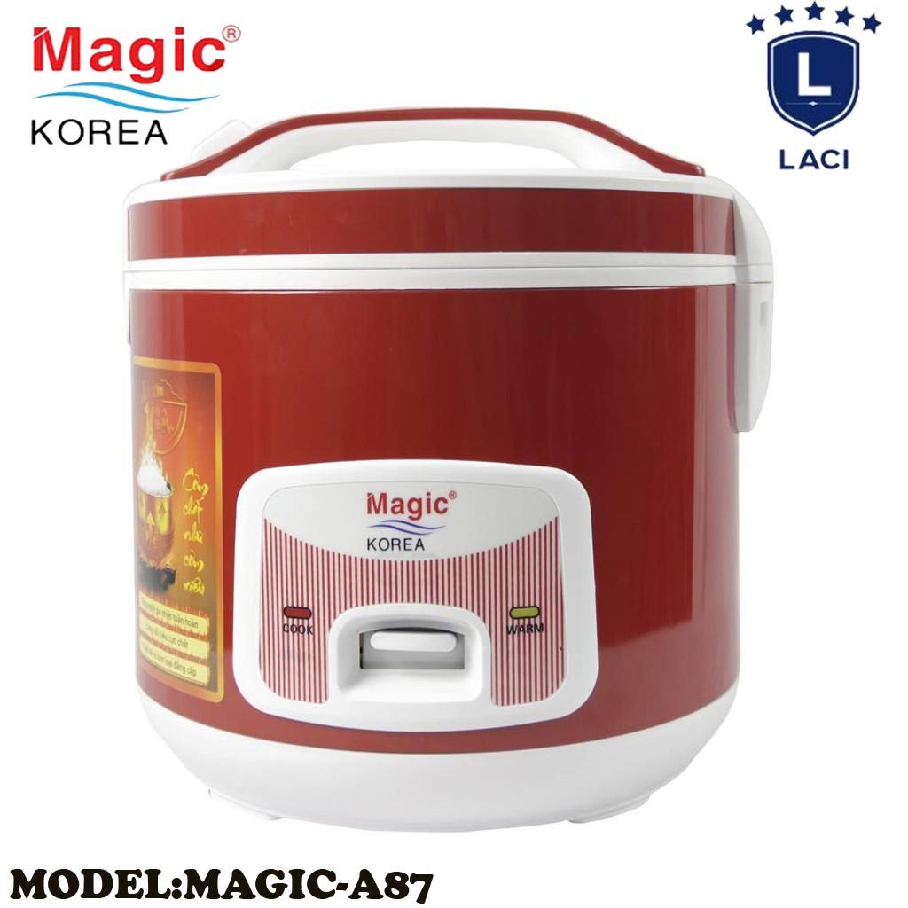 Nồi cơm điện lòng niêu Magic Korea A87   Dung Tích 2L   Công Suất 700W   Bảo Hành Chính Hãng 1 Năm