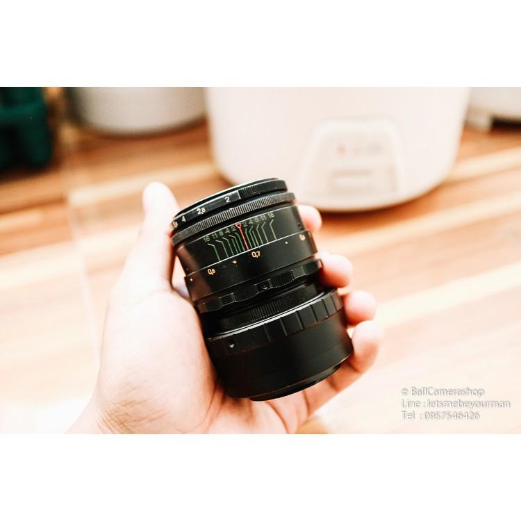 Helios 44-2 ขายเลนส์โบเก้หมุนตัวเทพจาก Russia For Canon EOS M Mirrorless Serial 81330775