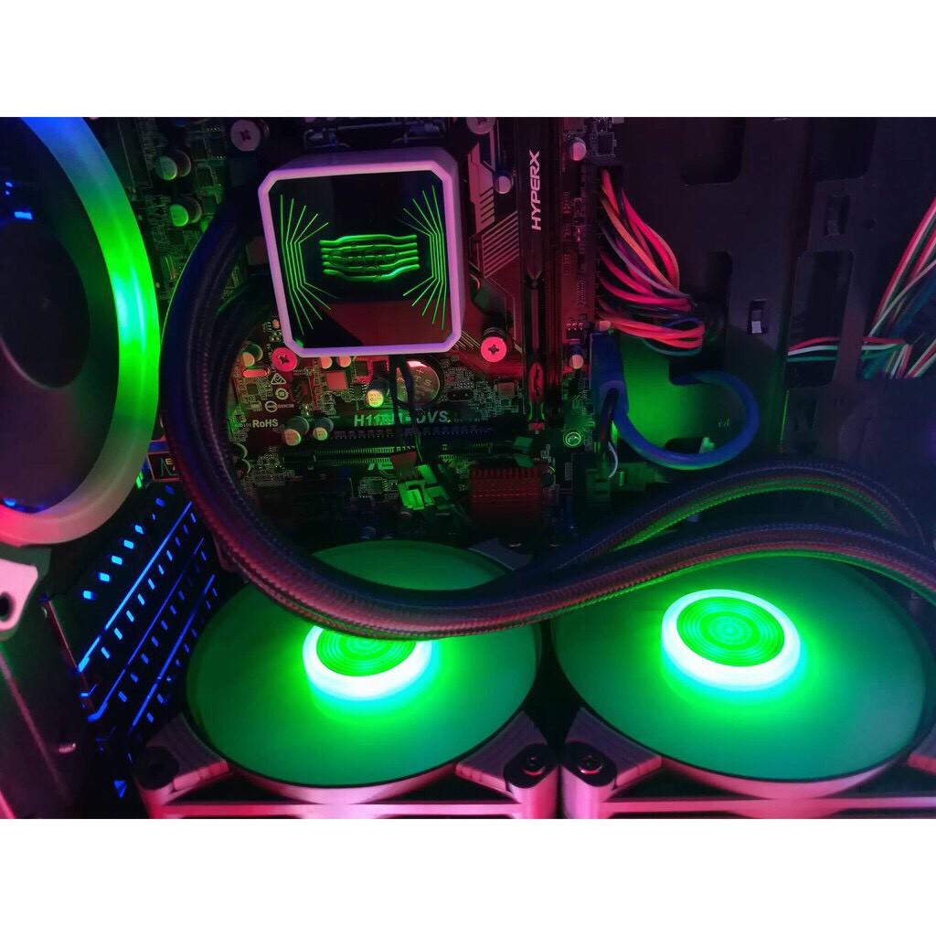 [Mã 267ELSALE hoàn 7% đơn 300K] Quạt Tản Nhiệt CPU Nước Cao Cấp AIGO ICY T120 (RGB)