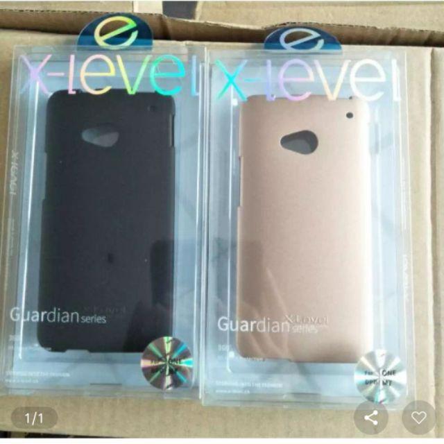 ốp dẻo nhám HTC One M7 hiệu X-Level chính hãng