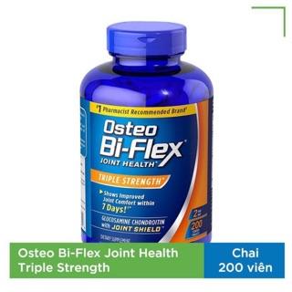 [Date 05 2023]Osteo Bi-Flex Joint Health bổ sung Glucosamine, Chondroitin, MSM, Collagen, HA, Chai 200 viên thumbnail