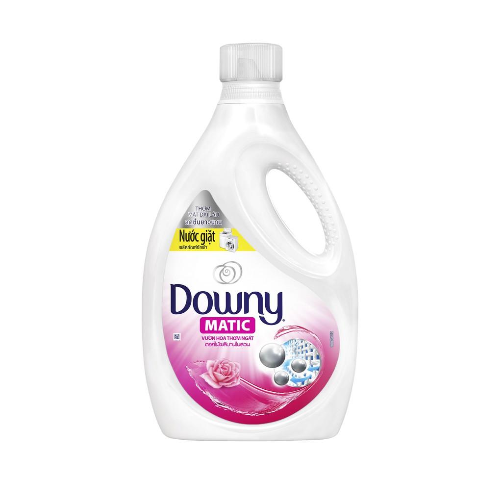 Nước giặt Downy Matic chai 2,4kg (MỚI)