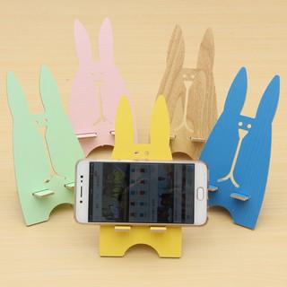giá đỡ điện thoại hình thỏ lắp ghép-1625