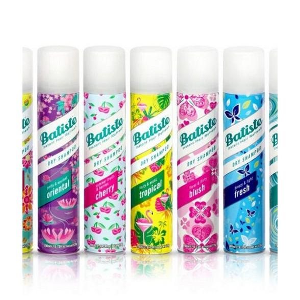 Dầu gội khô Batiste Dry Shampoo 200ml chuẩn uk