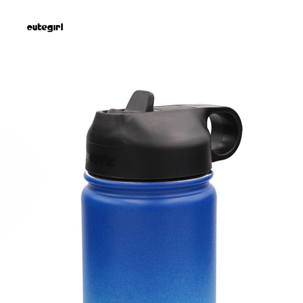 Bình nước có ống hút bằng thép không gỉ đáng yêu