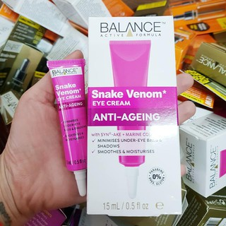 Kem Mắt Nọc Rắn Balance Active Formula Snake Venom Eye Cream thumbnail