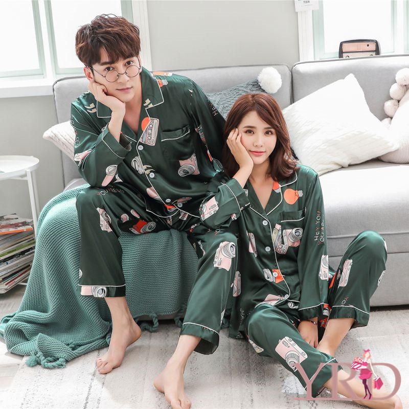 Đồ ngủ in họa tiết sáng tạo dành cho các cặp đôi