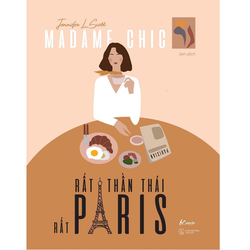 Sách AZ - Madame Chic - Rất Thần Thái, Rất Paris