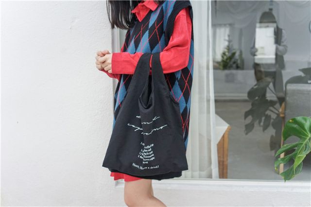 Túi tote đeo vai phong cách hàn quốc
