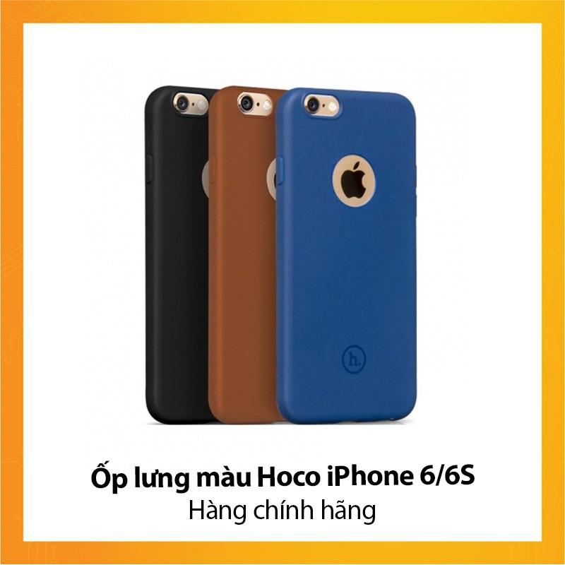 Ốp lưng màu Hoco iPhone 6/6S - Hàng chính hãng