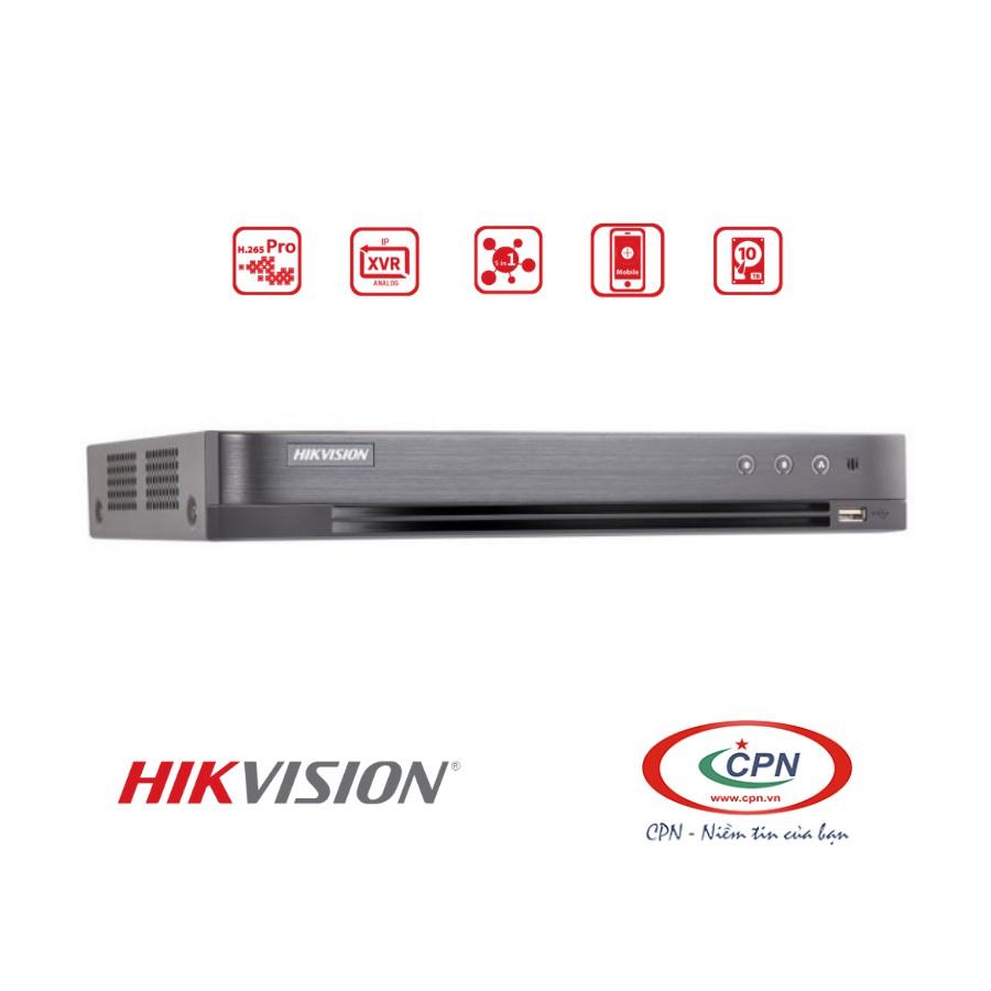 Đầu ghi hình HikVision DS-7208HQHI-K1 - đầu vào 8 kênh analo + 2 IP; 2MP hỗ trợ 3MP; Turbo HD 4.0; 1 HDD