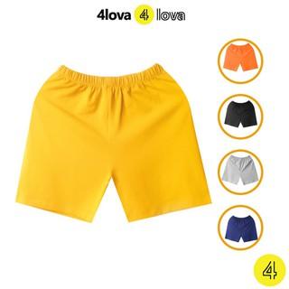 Quần đùi short thun cho bé 4LOVA mùa hè chính hãng từ 8-40 kg