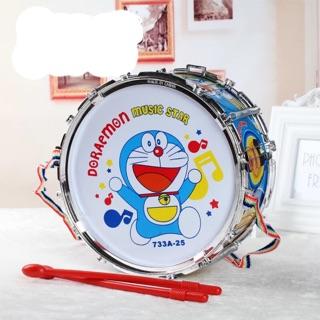 Đồ chơi trống lớn nhựa 21cm siêu dễ thương cho bé yêu âm nhạc thích làm nghệ sĩ