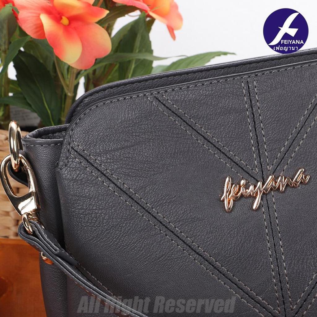 Crossbody bag Business bag Cross Body & Shoulder Bags กระเป๋าสะพายไหล่ผู้หญิง Feiyana ของแท้ 8223DXVrossbody bag Bus
