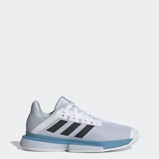 Giày adidas TENNIS Nam Solematch Thoát Màu Trắng FX1732 thumbnail