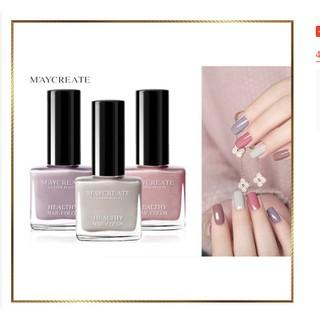 Sơn Móng Tay Chai vuông Maycreate- Hàng Nội Địa Trung Healthy Nail Color thumbnail