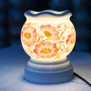 Đèn xông tinh dầu Bát Tràng size to cao 15cm 6