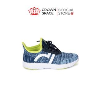 Giày Thể Thao Bé Trai Bé Gái Đi Học Nhẹ Êm Crown Space Sport Shoes UniSex CRUK8022 Trẻ em Cao Cấp Size 28-35 2-14 tuổi thumbnail