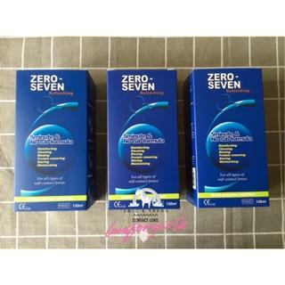Yêu ThíchNước NGÂM kính áp tròng Zero Seven 120ml & 360ml