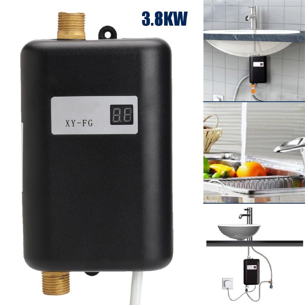 【ele】 เครื่องทำน้ำอุ่น 220 V 3.8 KW Temperature
