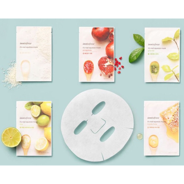 Mặt nạ giấy Innisfree It's Real Squeeze Mask - 2406952 , 953357598 , 322_953357598 , 30000 , Mat-na-giay-Innisfree-Its-Real-Squeeze-Mask-322_953357598 , shopee.vn , Mặt nạ giấy Innisfree It's Real Squeeze Mask