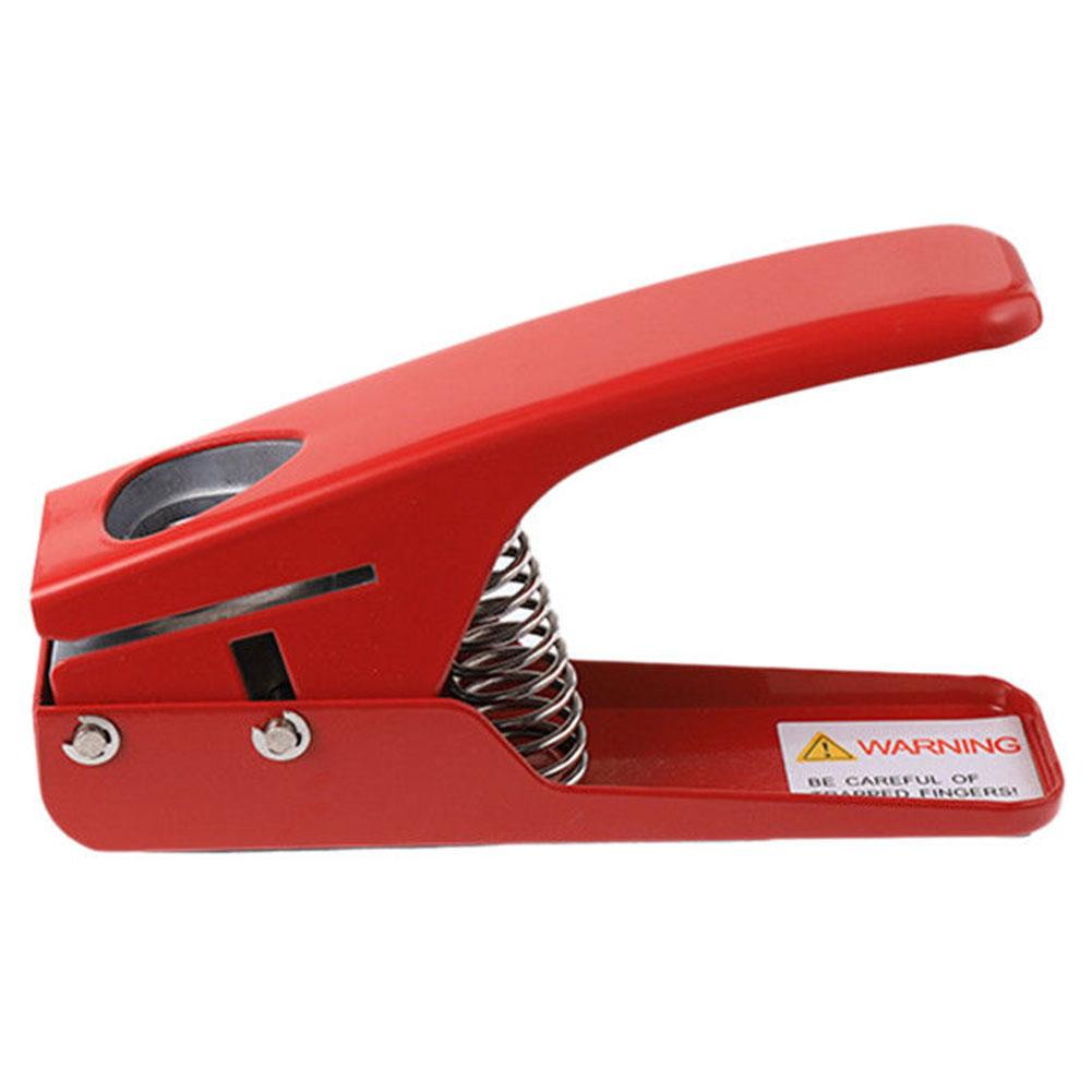 Handheld Gift Card Cutter Guitar DIY Maker Press Tools Professional Plectrum Punch
