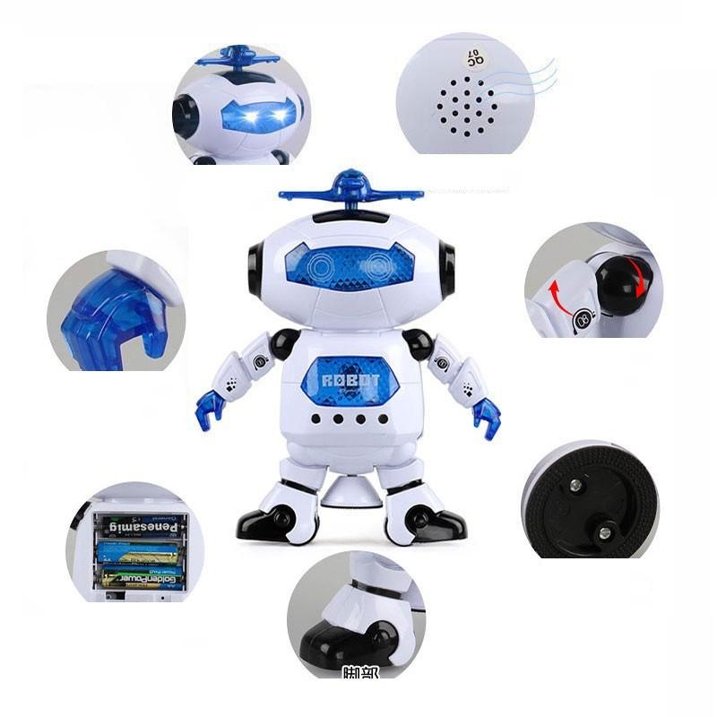 Robot Biết Nhảy Và Hát Xoay 360 Độ US04019 (HÀNG CHÍNH HÃNG)