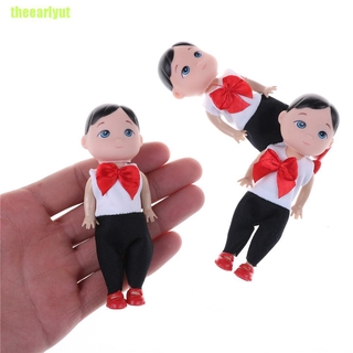 theearlyut Kid 10cm Fashion dolls Toys For Barbie baby boy son dolls Super cute small toys