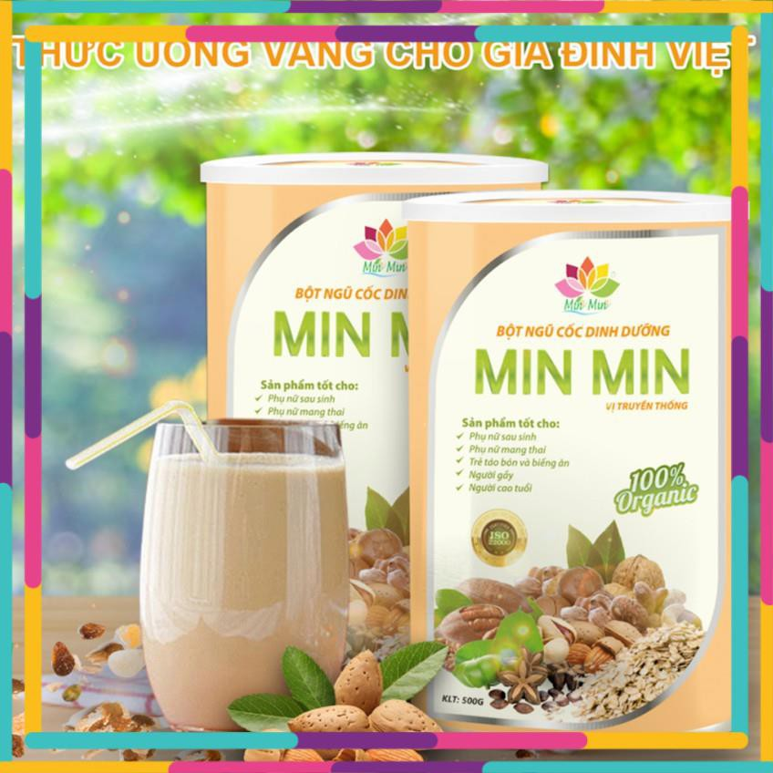 Ngũ Cốc Lợi Sữa - Mẫu mới 29 loại Hạt, Bột Ngũ Cốc Min Min (500GAM)