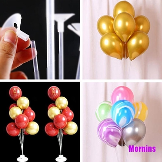 Mornin☪105cm Balloon Stand Holder Column Happy Birthday Baby Shower Wedding Party Dec