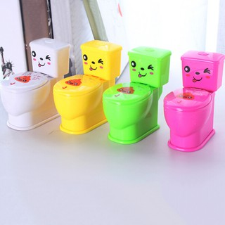 Fashion Plastic Mini Water Toilet Toy Funny Squirt Spray Joke Trick Toy